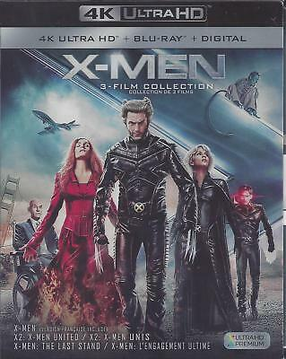 X-Men 3 Film Collection (4K Ultra Hd/ Bluray)(6 Disc Set)(Used)