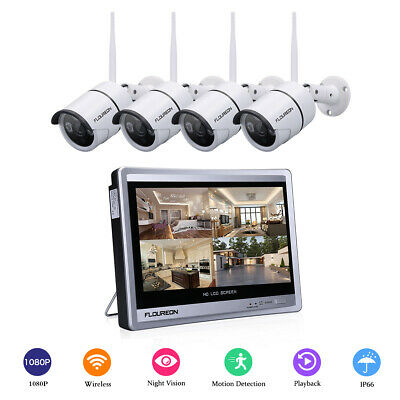 Sricam 1080P HD Wireless Wifi IP Camera Night Vision CCTV Security Network Black