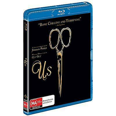 Us (Limited Cover) (Blu-ray, 2019 (Region B) New Release