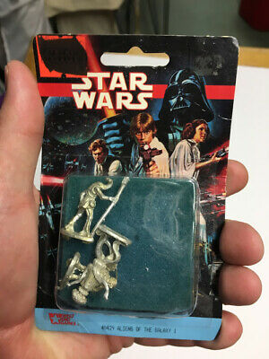 Aliens of the Galaxy 1 - West End Star Wars  Metal Miniatures Blister Pack 40429