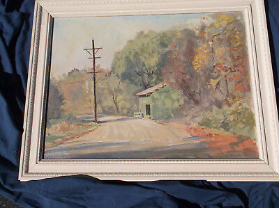 Autumn Time, Cider Mill,October, Oil, Peaceful, Theodore Saint-Amant Cunningham