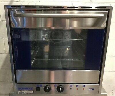 Euromax MADE IN THE EU Bakers Oven Commercial RESTAURANT Cafe Bakery 10Amp 240v