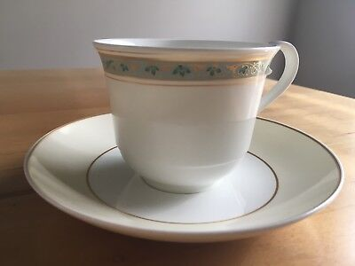 Villeroy and Boch Villa Medici Cup and Saucer Set Heinrich Bone China