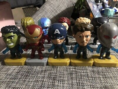 2019 McDONALD'S MARVEL AVENGERS HAPPY MEAL TOYS Set of 10