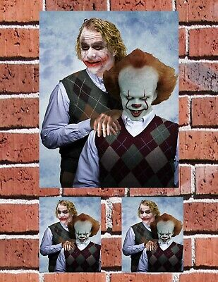 JOKER PENNYWISE IT Step-Brothers SCHOOL AUTO SKATE HOME Decal Stickers FREE SHIP