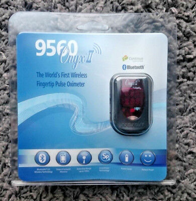 NEW Genuine Nonin Onyx II 9560 Finger Pulse Oximeter