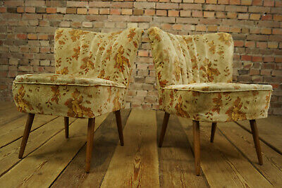 Rockabilly Cocktail Sessel Lounge Chair Vintage Mid-Century Clubsessel 50er 1/2