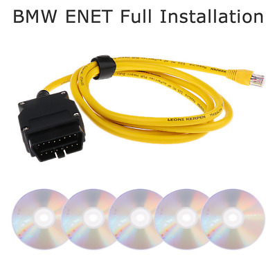 OBD ENET Interface Cable E-SYS ISTA ICOM Coding F Series Launcher PRO - For BMW