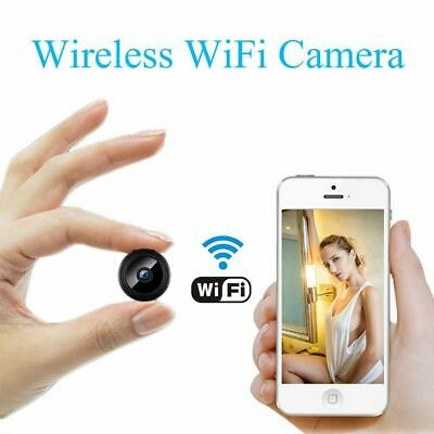 WIFI IP Pinhole Spy Camera Wireless Mini Nanny Cam Digital Video Hidden DVR New