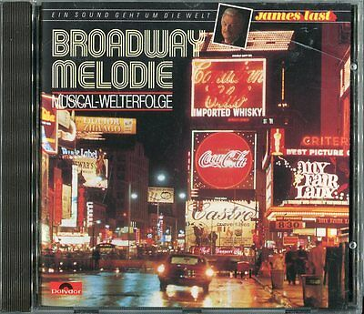 James Last cd BROADWAY MELODIE © 1988 Polydor 835 980 2 West Germany