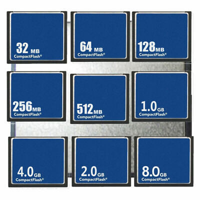 CF 32MB 64MB 128MB 256MB 512MB CF CompactFlash Memory Card Wholesale NEW