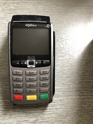 ingenico iWL250 - Model L252 Cordless Chip & Pin Card Reader
