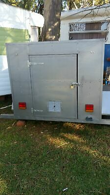 6x4 enclosed trailer