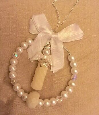 💜BREAST MILK ANGEL/PEARL&CRYSTAL💜xmas Tree/Charm(see Del)