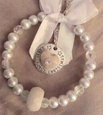 💜BREAST MILK/Baby's First Christmas💜Tree/Suncatcher Charm(1st Class*see Del