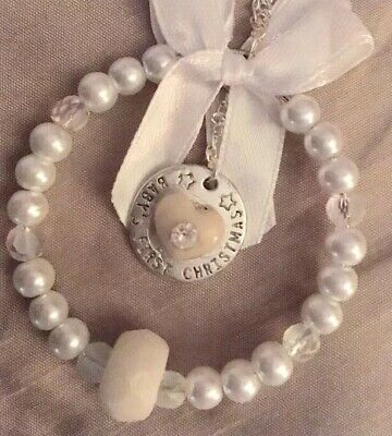 💜BREAST MILK /Baby's First Christmas 💜Tree/Suncatcher Charm (see De)