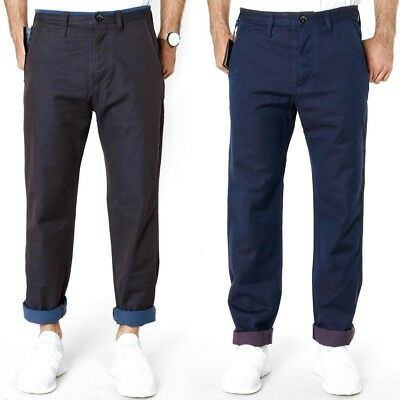 Paul Smith Regular Fit Herren Chino Stoff Hose | Lila&Blau | UVP*200€ | W30 L34