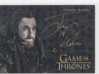 2019 Game of Thrones Inflexions Joseph Mawle as Benjen Stark Auto