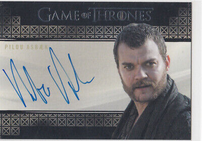 2019 Game of Thrones Inflexions Pilou Asbaek as Euron Greyjoy Auto