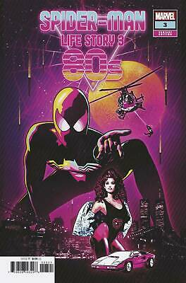 SPIDER-MAN LIFE STORY #3 80s Aco 1:25 VARIANT 1:25 COVER B Bagged & Boarded NM
