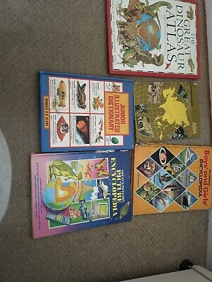Job Lot of Childrens Reference Books 5 Books