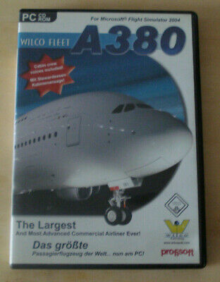 FLIGHT SIMULATOR X / 2004 Airbus Family Vol 3 A350 / A380 - EUR 4,99