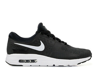 NIKE 876070 005 MENS Air Max Zero Essential Black White Gray