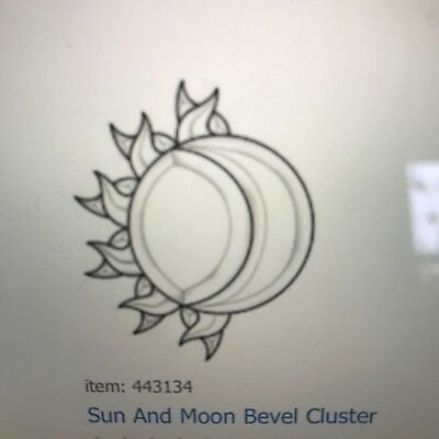 Sun and Moon Bevel Cluster EC134