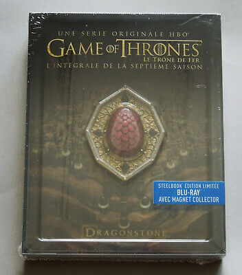 Game Of Thrones Season 7 - France Blu-Ray Steelbook Edition With Magnet * New