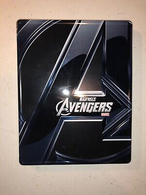 The Avengers Best Buy 3D Blu-Ray Metal Pack Steelbook Marvel