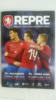 Czech Republic v Bulgaria/Montenegro programme,EURO 2020 qualification,June 2019