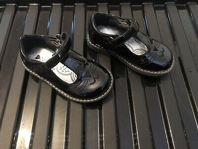 7292ae3336 Matalan Black Patent Girls Party/School Shoes Size 6 Excellent Condition!