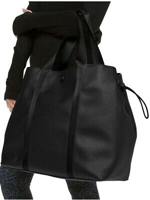 54d8366698 LULULEMON WOMEN'S DAY Out Tote Black Bag Purse Carry All Duffel NEW ...