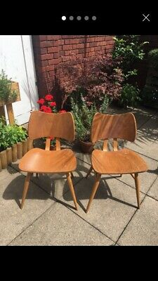 One Ercol Model 401 Butterfly Chairs Mid Century Vintage