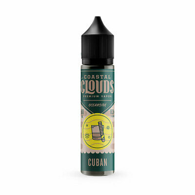 Cuban by Coastal Clouds Oceanside Short Fill |  E liquid Vape E Juice | 0mg |...