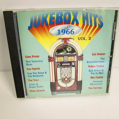 Jukebox Hits of 1966, Vol. 2 by Various Artists (CD, Sep-2000, Jukebox Hits)