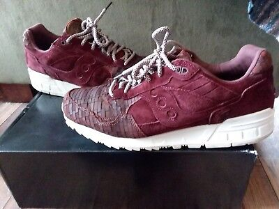 the best attitude 805e4 bb1cf SAUCONY SHADOW 5000 Used Size 8 Play Cloths Strange Fruit ...