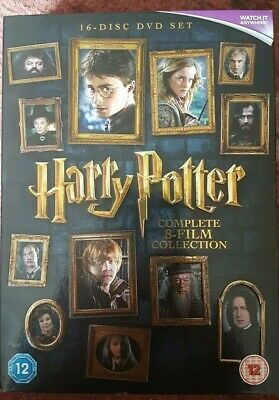 Harry Potter: The Complete 8-film Collection (DVD) 16-Disc, JK Rowlings