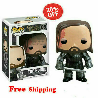 Funko Pop TV Series Game of Thrones The Hound #05 Vinyl Figure w/ Protector Box