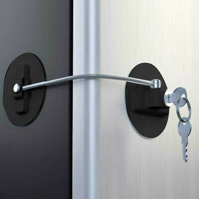Drawer Door Security Child Safety Lock Window Refrigerator Safety Limit Lock US