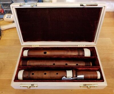 Maple Traverso / Baroque Flute Case