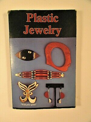 """Craft Book """"Plastic Jewelry"""" with price guide 6""""x 9"""" 152 pages Illustrated,price"""