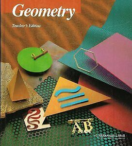 GEOMETRY TEACHER'S EDITION By Richard Brown - Hardcover