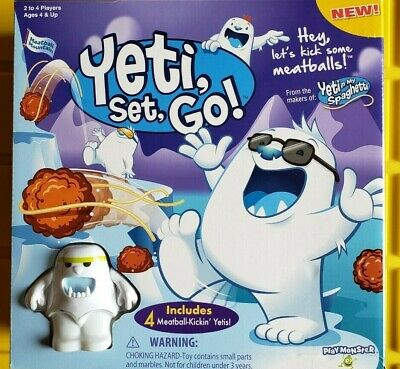 PlayMonster 6956 Yeti Set, Go! Skill & Action Kids Game NIB