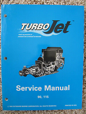 1994 evinrude johnson omc service repair manual turbojet 90 115 turbo jet  502138