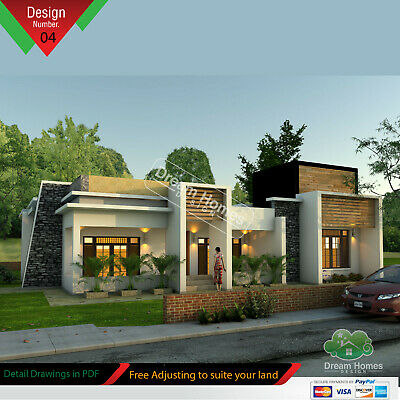 Modern House Plan PDF total 1761 SF New Smart Home Complete House Plan 1-story