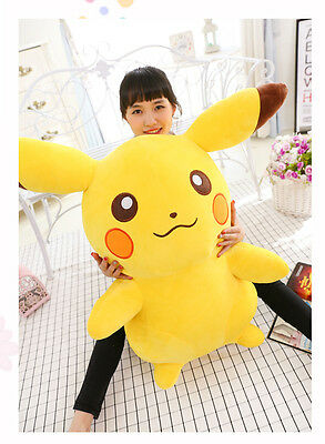 2019 Big Large Stuffed Anime  # Go Yellow Soft Plush Toys Doll Gift 65cm