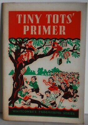 Tiny Tots' Primer original Australian school reader Home school 1960 PB