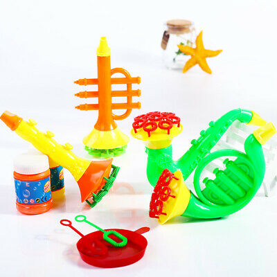 Funny Water Blowing Toys Bubble Soap Bubble Blower Outdoor Kids Bath Toys Gift