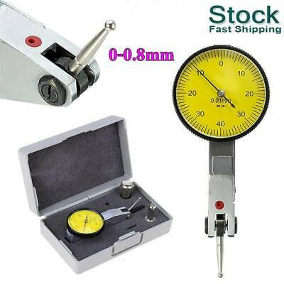 Magnetic Flexible Base Holder Stand & Dial Test Indicator Gauge Scale w/ Case